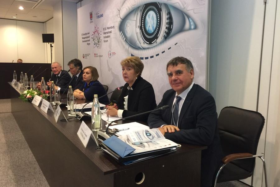 Кафедра  ЮНЕСКО – участник XI Петербургского Международного Инновационного Форума