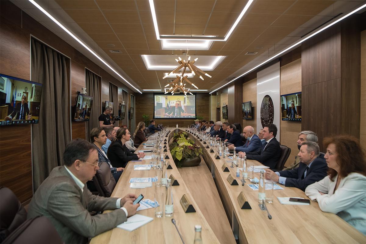 Кафедра ЮНЕСКО СПбПУ провела Международную конференцию «Устойчивое развитие. Мировые вызовы»