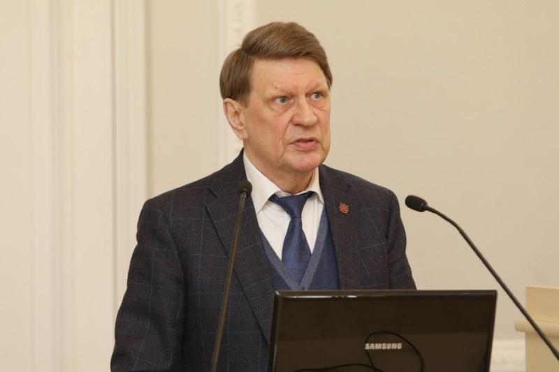 Научные чтения, посвященные юбилею академика РАН В.В. Окрепилова в СПБГЭУ